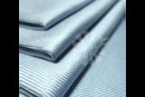 Blue Glass and Window Towel_